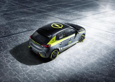 Weltpremiere auf der IAA: Opel präsentiert als erster Hersteller ein elektrisches Rallyeauto