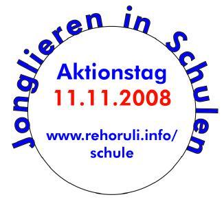 """Piktogramm für AKtionstag """"Jonglieren in Schulen"""""""