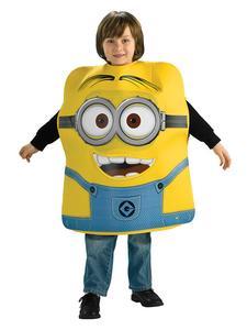 Minions Dave Kinderkostüm Schaumstoff Lizenzware blau-gelb
