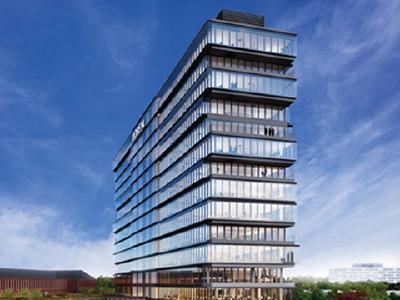 Das HORIZON-Gebäude in Düsseldorf (Foto: L'Oréal)