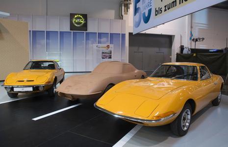 Aller Anfang: Der Experimental GT von Opel war die erste Studie eines europäischen Herstellers © GM Company