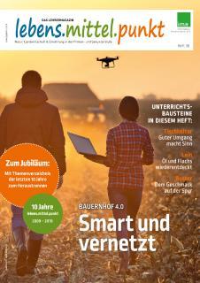 """Cover""""lebens.mittel.punkt"""" 03/2019"""