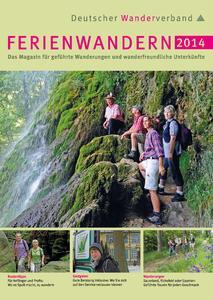 Titelblatt Ferienwandern 2014