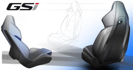 Neuer Opel-Performance-Sportsitz: Maßgeschneidert für Insignia GSi