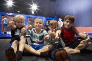 24h-Charity-Jump im Sprungpark Remchingen - Große Sprünge für Kinder