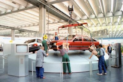 1981 Opel Ascona Exhibition IAA Frankfurt