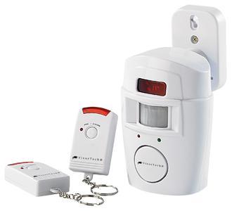 VisorTech Hausalarm mit PIR-Bewegungsmelder und 2 Fernbedienungen
