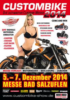 CUSTOMBIKE-SHOW 2014
