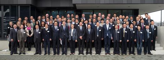 Rund 90 Expertinnen und Experten aus China und Deutschland tauschten sich auf dem 8. Deutsch-Chinesischen Symposium über anwendungsorientierte Hochschulausbildung aus