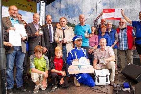 Preisverleihung Siegerehrung Stadtradeln 2014