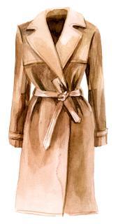 Mantel Camel Zeichnung