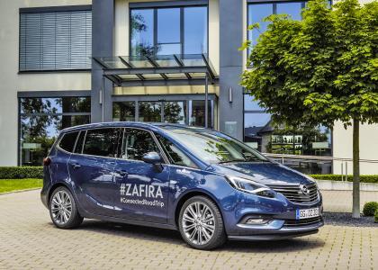 Neuer Opel Zafira: Die bestens vernetzte Lounge auf Rädern reist auf einem #ConnectedRoadTrip durch Europa