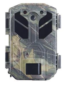 VisorTech 4K-Wildkamera WK-586 mit Bewegungssensor, Nachtsicht, Farb-Display, IP66