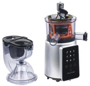 Nutrilovers Slow Juicer Elektrischer Entsafter : Rosenstein & Sohne 3in1-Slow-Juicer & Entsafter mit Gemuse-Reibe & Eis-Aufsatz, 200 Watt - PEARL ...