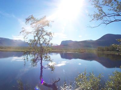 Landschaft bei Kiruna