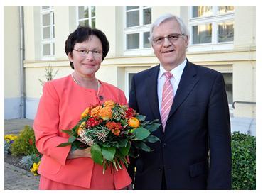 Prof. Dr. Isa Sammet und PD. Dr. Günther Bergmann