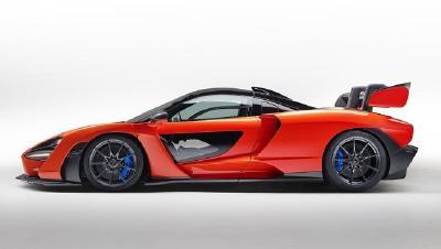 Für den neuen McLaren Senna entwickelte Pirelli spezielle Versionen des P Zero und des P Zero Trofeo