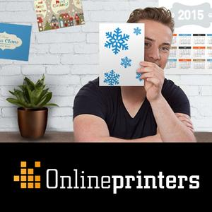 Christmas mail from the online print shop Onlineprinters