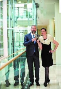 Hein Mulders und Marie Babette Nierenz (Foto: Alexandra Roth/Messe Essen)