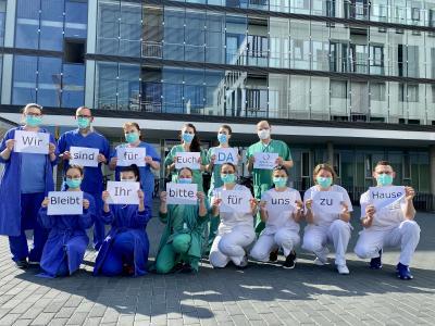Klinikum Darmstadt: Wir sind für euch DA