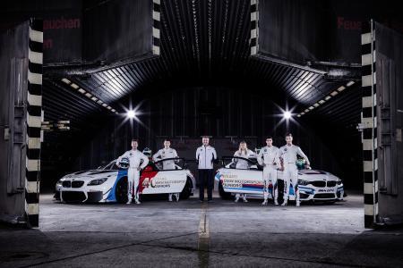 Fotoshooting, Jens Marquardt, BMW Motorsport Junioren, BMW M6 GT3, BMW M4 GT4