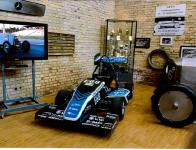 Formula Student Rennwagen DR 17 E rollte in das Automuseum Dr. Carl Benz.