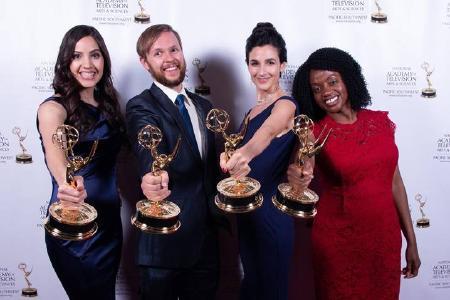"Emmy Award für ""Love for Lexi"", © Foto: Loma Linda University Health"