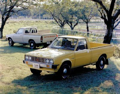 Forty years of Mitsubishi pickup success
