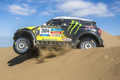 Der MINI ALL4 Racing dominiert die Rallye Dakar 2014