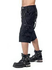Gothic Metal Shorts mit Taschen
