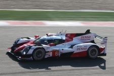 Front row in China for Toyota Gazoo Racing