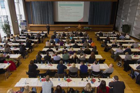Großes Interesse am 11. Osnabrücker Gesundheitsforum: Über 150 Teilnehmerinnen und Teilnehmer haben sich an die Hochschule Osnabrück über das Berichtswesen im Krankenhaus ausgetauscht