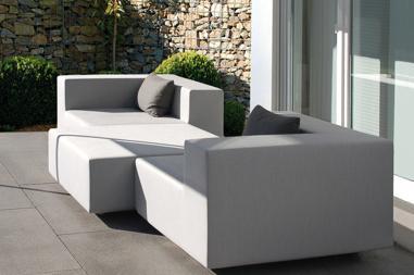 Terrassenmöbel lounge wetterfest  Wetterfeste Gartenmöbel: Exklusive Design Polstermöbel für den ...
