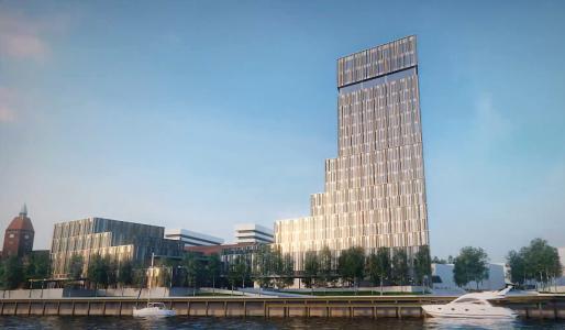 Waterfront Hotel Sonderburg: Als Teil des von dem weltbekannten Architekten Frank Gehrys entwickelten Gesamtkonzepts für den Hafen von Sønderborg, wird im Herbst 2018 das Alsik Hotel eröffnet.