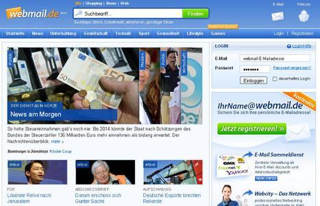 Screenshot webmail.de