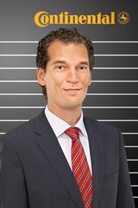 Dr. Boris Mergell, Leiter der Material- und Prozesstechnik für Reifen von Continental
