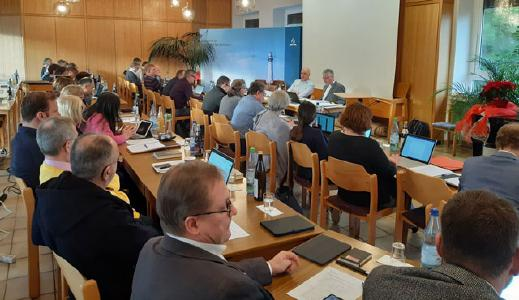 Leitungsgremium des Norddeutschen Verbandes bei seiner Sitzung am 2. Dezember im Bergheim Mühlenrahmede