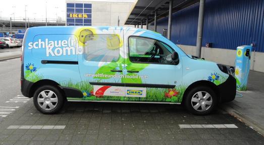 Erfolgreiche Zwischenbilanz: Ein Jahr Elektromobilität von Badenova, VAG und IKEA