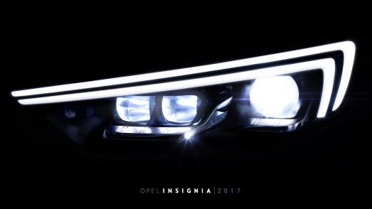 Im neuen Opel Insignia: Die IntelliLux LED® Matrix-Scheinwerfer der nächsten Generation machen die Nacht zum Tag. So wird die Sicht klarer, weiter und besser als je zuvor.