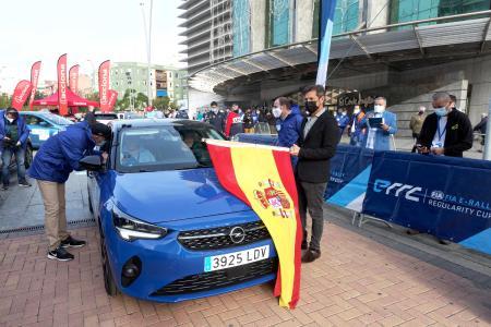 Maiden Victory: Opel Corsa-e Wins FIA E-Rally Regularity Cup / Picture: Opel Automobile GmbH