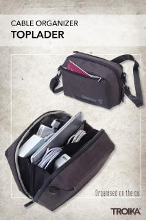 TOPLADER is the accessories bag that brings order to your digital life