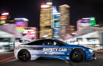 Formel E, Qualcomm BMW i8 Safety Car, Hongkong