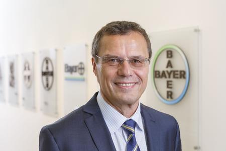 Dr. Klaus Jelich, Standortleiter Bayer HealthCare Wuppertal