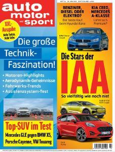 AUTO MOTOR UND SPORT 14/2019 / Motor Presse Stuttgart