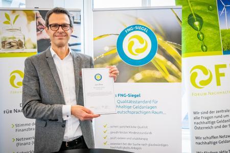 Preisverleihung am 26.11.2020: Jon Gallop, Leiter Nachhaltige Investments HanseMerkur Trust AG