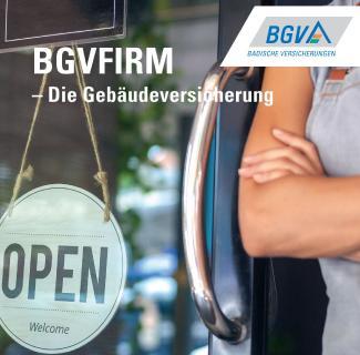 Die BGVFIRM-Gebäudeversicherung