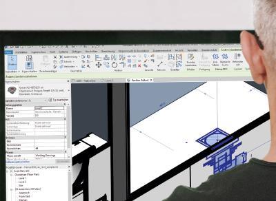 Ob für die Elektro-, Sanitär- oder Fachplanung bei Heizung, Klima und Lüftung – HeinzeBIM liefert jetzt auch in vielen Bereichen der technischen Gebäudeausstattung Geometrien und Alphanumerik entsprechend der VDI 3805 / Bild: ©Heinze GmbH