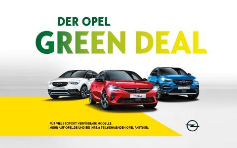 Mehrwertsteuer geschenkt: Das Opel-Konjunkturpaket / Bild: Opel Automobile GmbH