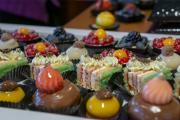 Feines Fingerfood in der Peters Schokowelt zum Steampunkfrühstück