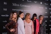 Die Jury 2020: (v.l) Frauke Ludowig, Sofia Tsakiridou, Dagmar Wöhrl, Anna Lewandowska, Ann-Katrin Schmitz